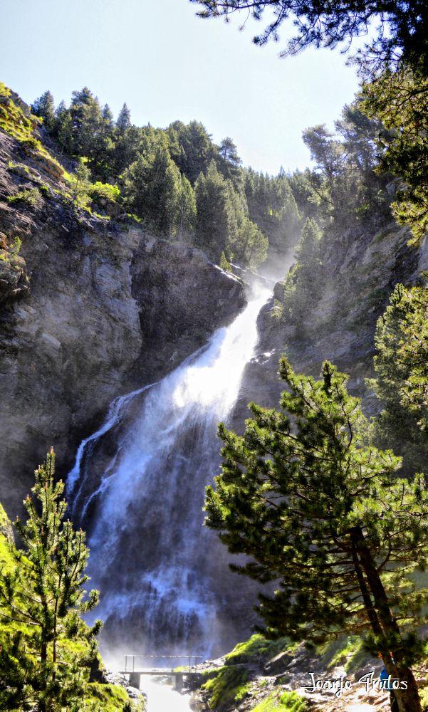 Ruta de las Tres Cascadas de Cerler